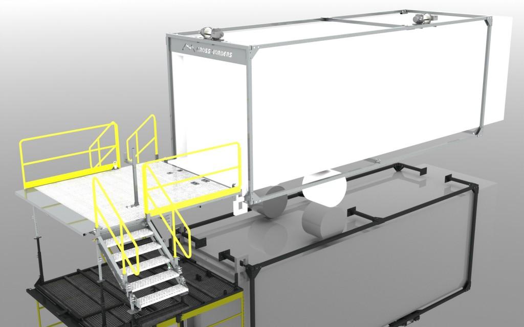 Drilling rig platform