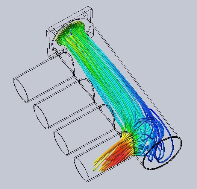 intake manifold CFD
