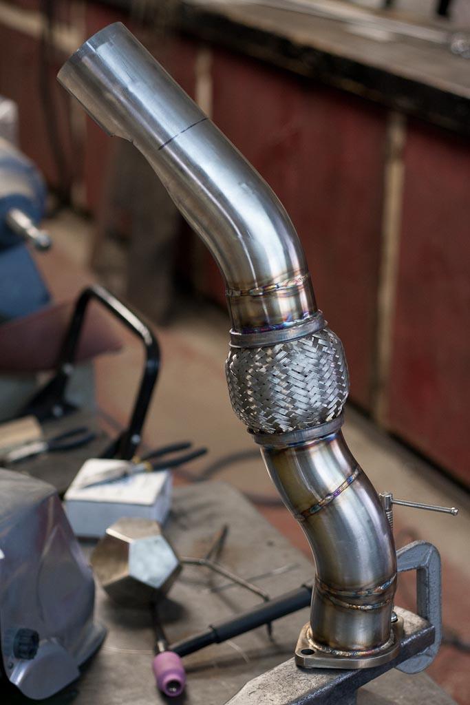 TIG weld stainless steel
