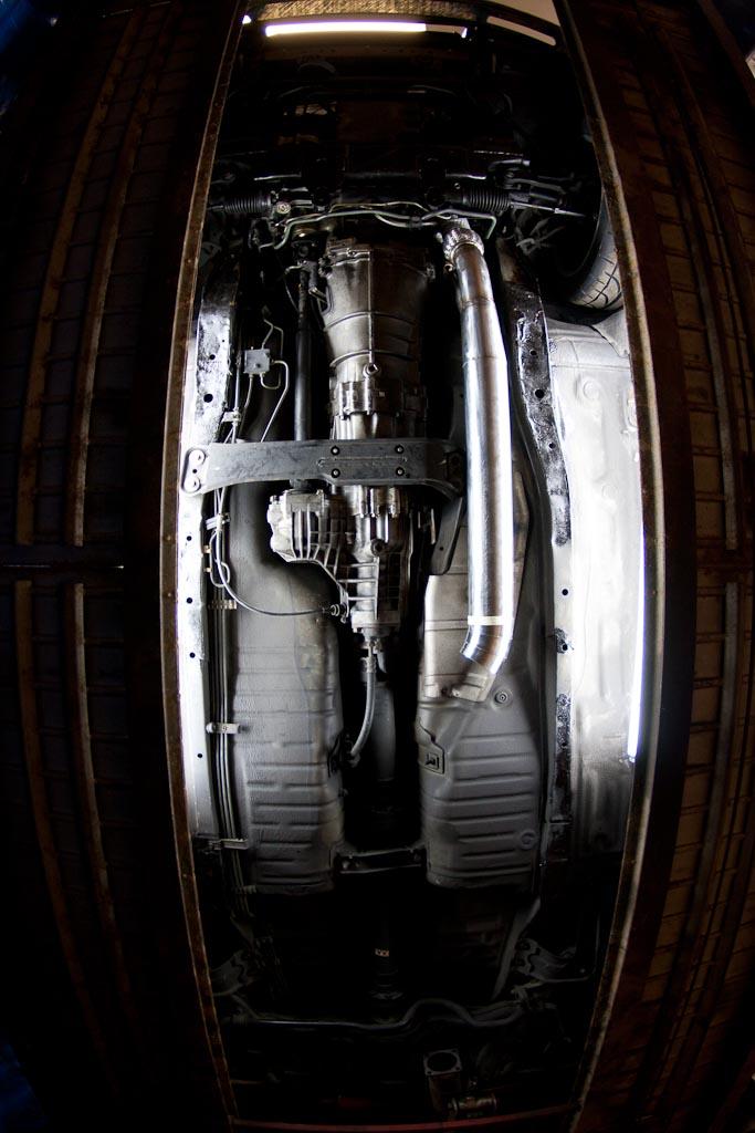 R32 Nissan Skyline exhaust