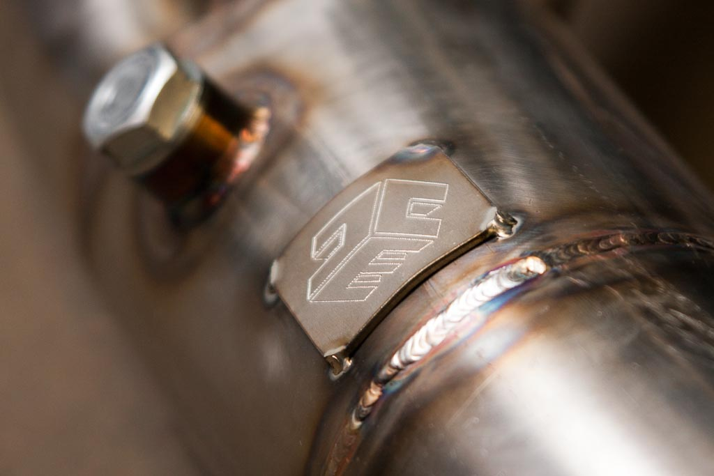 stainless exhaust logo