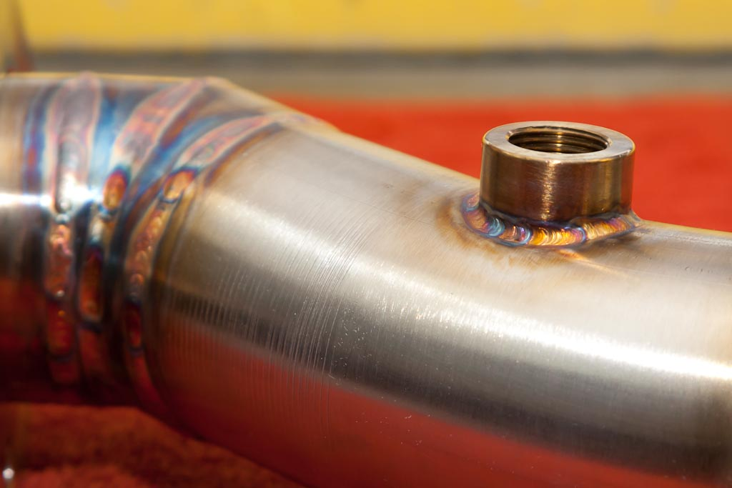 stainless steel midpipe