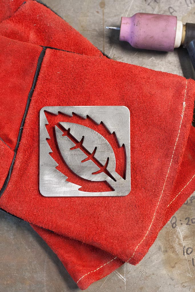 CNC cut coasters