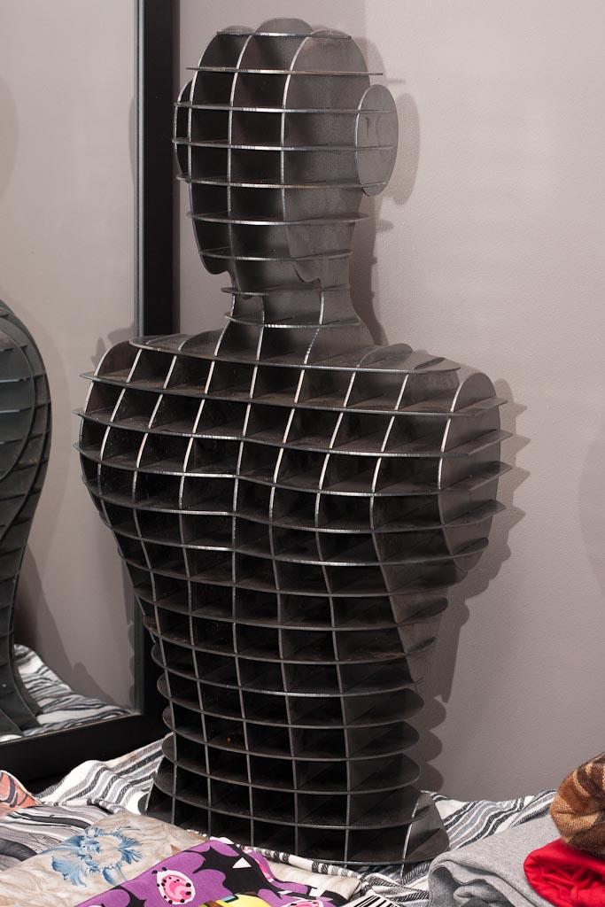 Steel CNC cut mannequin