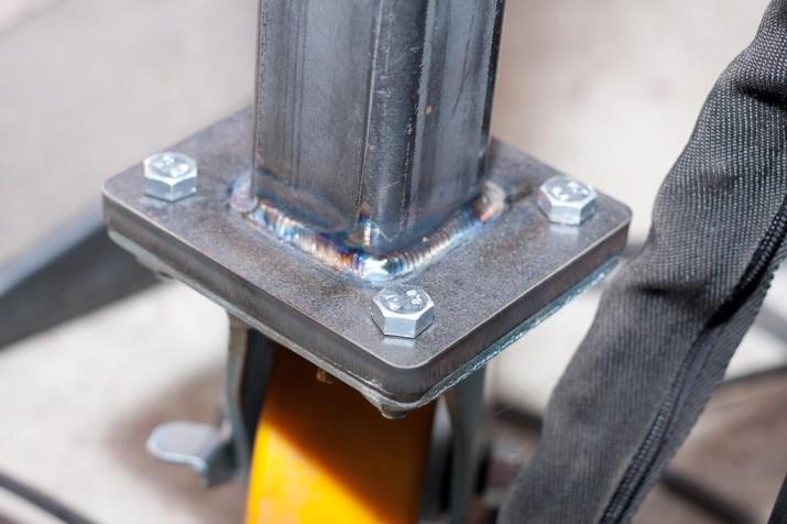 tig weld feet