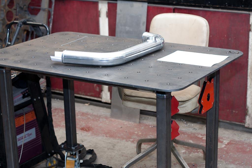 Welding Table Retirement Mint Design