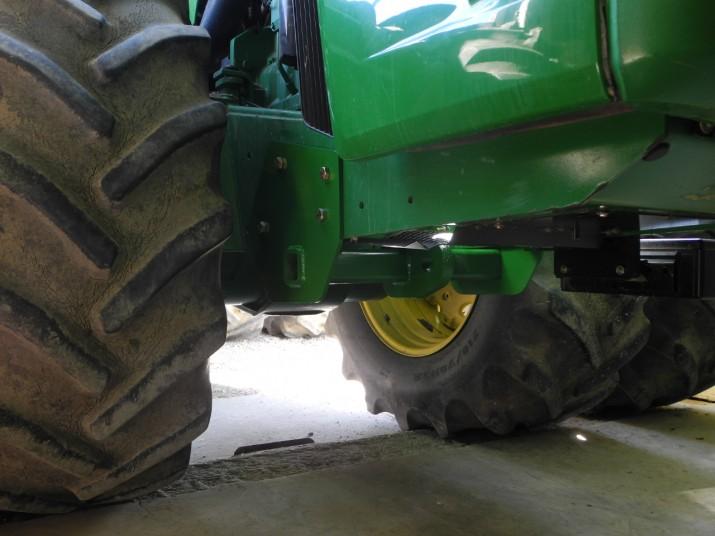 cnc cut john deere tractor