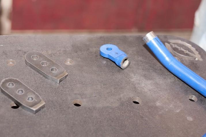 CNC cut sway bar mounts