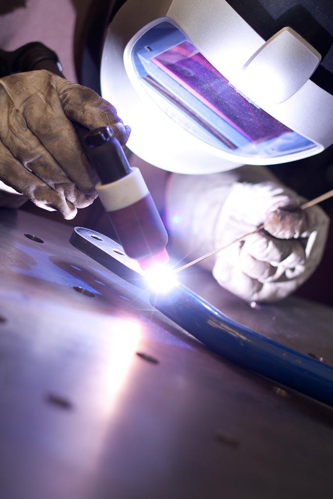 TIG welding Speedglas