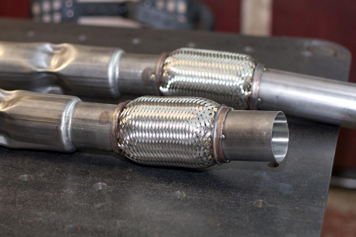 Vibrant TIG weld