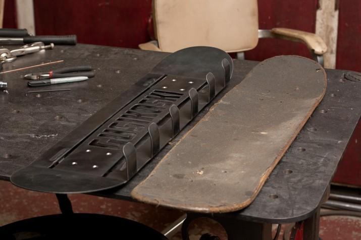 CNC skateboard