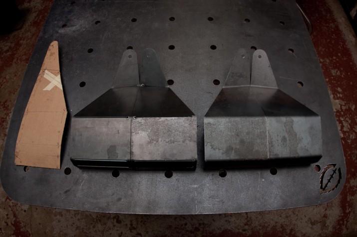 Dodge light brackets