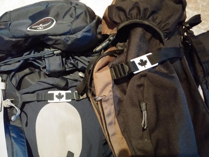 CNC cut backpack