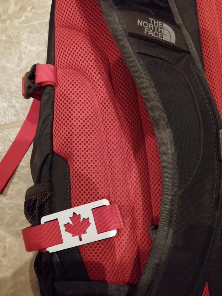 CNC cut backpack tags