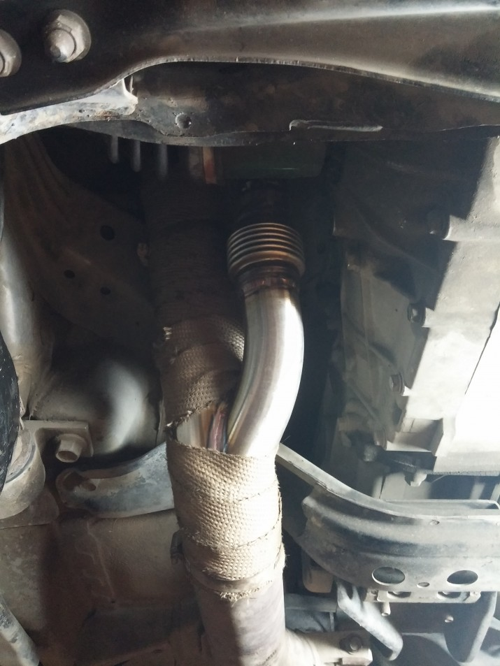 subaru exhaust