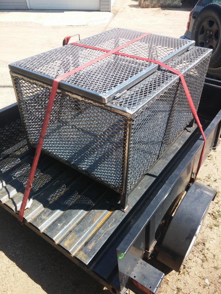 steel crate design