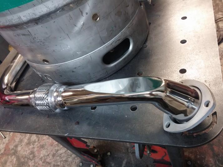 polish tig weld